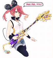 KHUx character by hakei