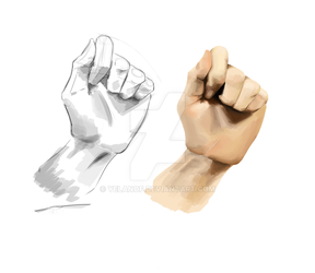 Hand sketch - color study by Yelanof