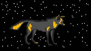 The Universe Wolf *REQUEST* by NeoHyacinthMacaw