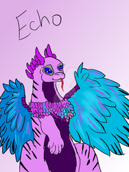 Echo (flightrising) by KassyKat