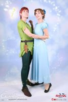 Peter and Wendy by Azure-Hawker