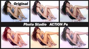 Photo Studio   ACTIONS Ps  by Laurent-Dubus
