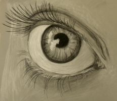 Charcoal Eye by MP-R