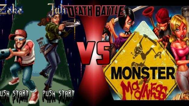 Ghoul Patrol vs Monster Madness teens by megabluex