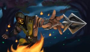 Scorpion MKX by AmeDvleec
