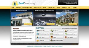 Construction Website by Cameron-Schuyler