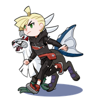 Gladion (minor spoilers?? not really but you know by Ferbulo