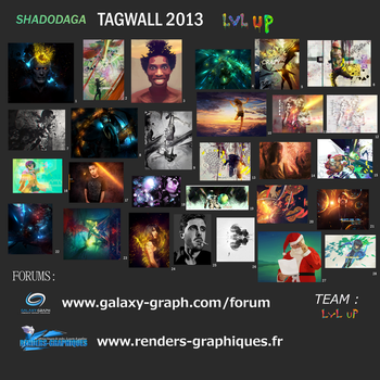 Tagwall 2013 by Shadodaga