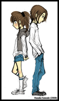Brother and Sister by Hasuko-SugarBerries