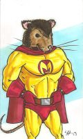 Mighty Mouse by mmmmmpig