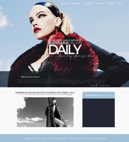Barbara Palvin - Wordpress Theme [Premade] by lenkamason