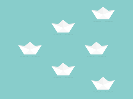 Paper Boats by apparate