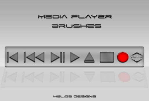 Media Player Brushes by HD by arscube