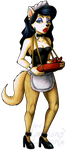 Commission - Levona Dingo by Lurking-Leanne