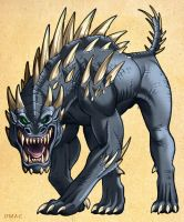 Spiked Beast of Algrith by D-MAC
