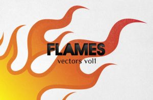 WG Vector Flames vol1 by wegraphics