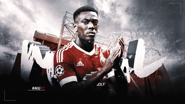 ANTHONY MARTIAL by Achrafgfx