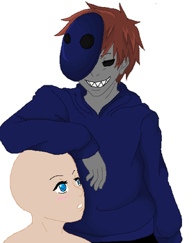 eyeless jack x oc base by PsychoHichi815