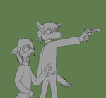 Gun lessons by queenmoreta