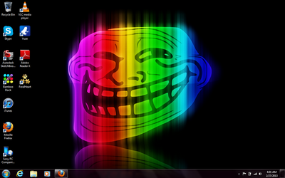 Troll wallpaper by Emergencyuseonly