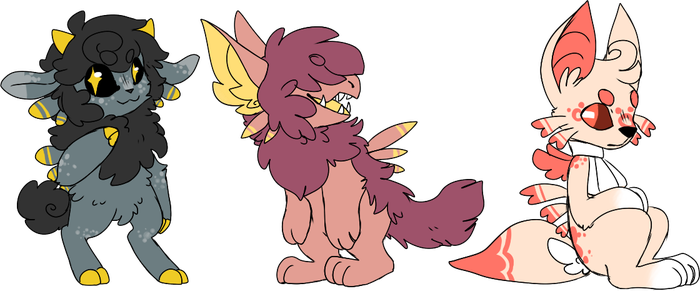 Fluffy Children Adopts [CLOSED] by 1Apple-Fox1