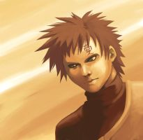 Naruto: Gaara Painting by Risachantag