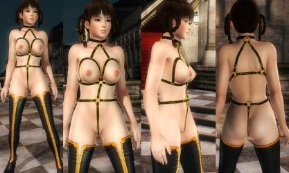 Leifang Nude Harness Straps by funnybunny666