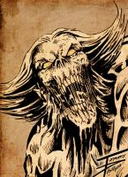 WOLVERINE ZOMBIE by TommyPhillips