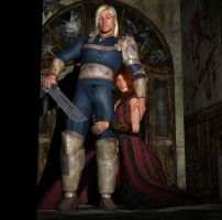 A Sorceress and Her Knight by DiannaSilver