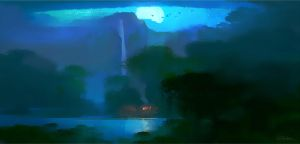 Rio2 Moonlight Comp by NathanFowkesArt