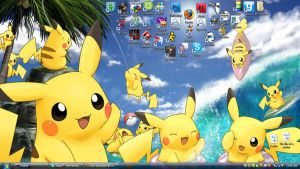 Pika background by Leo-Leonardo-III