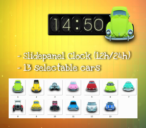 Archigraph Time Widget for xwidget by Jimking