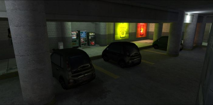 Neotokyo: Small Parking Lot by FuncDetail