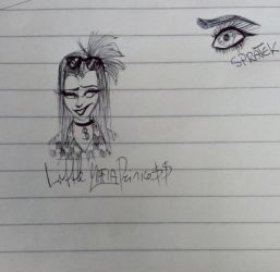 I drew this at school by LittleMafiaPrincess