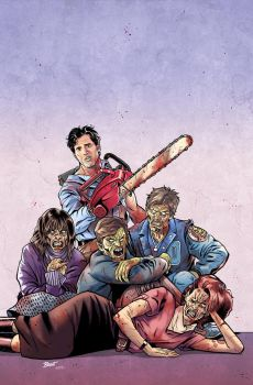 Ash Vs. The Army of Darkness #02 Cover COLORS by PencilInPain