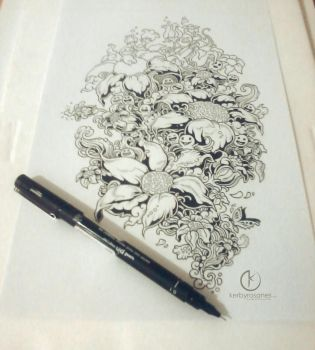 WORK IN PROGRESS: Bloom by kerbyrosanes