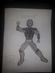 Ninja-X (2018 drawing) by schooltrashers