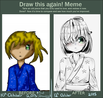 Draw This Again: October 2015 by DiamondArtist