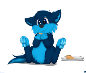 Chubby Floof by CloufyPaws