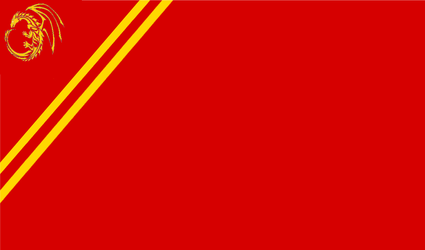 New Union of Draconic Socialist Republics Flag by TheCommunistDragon