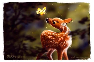 Bambi by Michelle-Winer