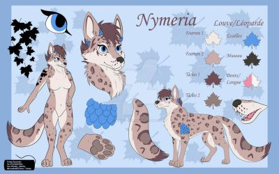 Nymeria reference by Husky-Whisky