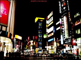 Tokyo - Night and light by happy-colors