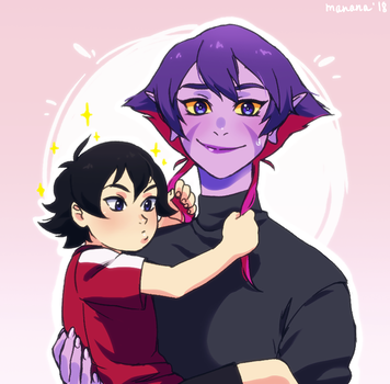 krolia and keith by mananeez