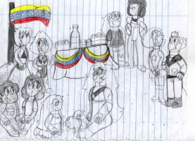 Venezuela Independence day party by Dulcechica19