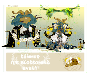 Summer It's Blossoming Event - [Day 18] by Piffi-sisters