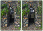 Narrow gate 3-D / CrossView / Stereoscopy / HDRi by zour