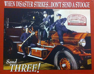 The Three Stooges Firefighters by MarcusMcCloud100