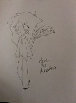Malia the Herwifuso by RollYProtomanZ