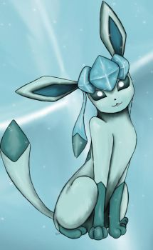 Glaceon Shimmers by Sara121089